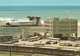 Boulogne Sur Mer-lot 4 Cartes- Le Casino - La Plage Et L'esplanade-l'hoverport- Aéroglisseur-cpm - Boulogne Sur Mer