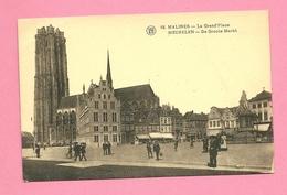 C.P. Mechelen = De  Grote  Markt - Malines