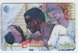 Saint Lucia GPT Phonecard (Fine Used) Code 60CSLA - Santa Lucía
