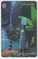 Saint Lucia GPT Phonecard (Fine Used) Code 21CSLA - Saint Lucia