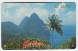 Saint Lucia GPT Phonecard (Fine Used) Code 3CSLC - Santa Lucía