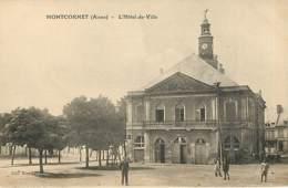 MONTCORNET - L'hôtel De Ville - Autres Communes