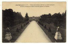 Cpa N° 2480 BECHEREL Château De Caradeuc Au Comte De Kernier Ancienne Résidence Du Célèbre Procureur La Chalotais - Bécherel