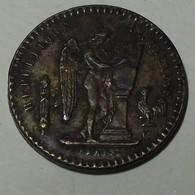 1894 - France - Jeton 20 FRANCS, Commerce Industrie - Monétaires / De Nécessité