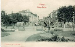 Piemonte - Vercelli - Piazza Torino - - Vercelli