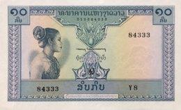 Laos 5 Kip, P-10b (1962) - UNC - Laos