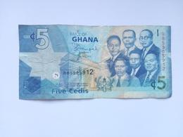 5 Cedi Banknote Aus Ghana 2015 (sehr Schön) II - Ghana