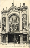 Cp Saint Quentin Aisne, La Salle De L'Omnia - Other Municipalities