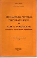 BELGIQUE - LUXEMBOURG (PROVINCE & GRAND DUCHE) - # 98 FORETS - DEPARTEMENTS CONQUIS /F. HERLANT - 68 PAGES  (ref CAT105) - Filatelie En Postgeschiedenis