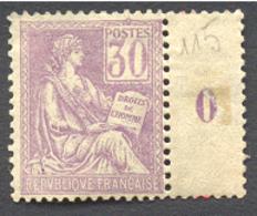 1500) N°115 Neuf *  Cote 90€ - France