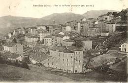 CORSE -- SARTENE - Vue Inhabituelle De La Partie Principale - 1919 - Ed. V.Porro - Sartene