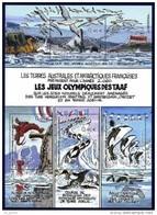 "TAAF Bloc YT 7 BF "" Jeux Olympiques Des TAAF "" 2002 Neuf** - Blocs-feuillets"