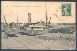 14 CAEN L'Arrivée Du Minerai De Fer - Caen