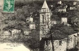 CORSE -- ZOZA Et Son EGLISE - Près De STE LUCIE DE TALLANO - V. Porro - Autres Communes