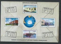 "TAAF Bloc YT 11 BF "" Gérances Postales "" 2004 Neuf** - Blocs-feuillets"
