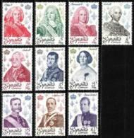 España. Spain. 1978. Reyes Y Reinas. Kings And Queens. Los Borbones. The Bourbons - 1971-80 Ungebraucht