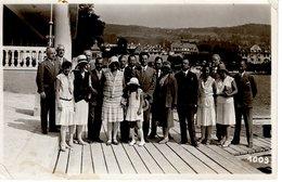 Velden Am Wörhersee - Urlaubergruppe Auf Terasse Ca 1940 - Velden