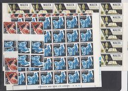 Malta 1967 St. Peter & Paul 3v (38x) ** Mnh (F7962) - Malta