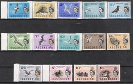 Ascension Island 1963 Bird Definitives MNH CV £70.25 (2 Scans) - Oiseaux