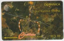 Dominica GPT Phonecard (Fine Used) Code 9CDMI - Dominique