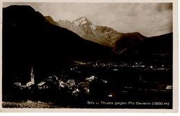 Sils Und Thusis Gegen Piz Beverin 1300m 1939 - GR Graubünden