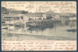 Piemonte ARONA Lago Maggiore Imbarcadero E Arsenale Piroscafi - Italia