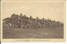 Chars De Combat Sur Camions-camp De Coëtquidan - Matériel