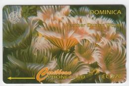 Dominica GPT Phonecard (Fine Used) Code 7CDMF - Dominique