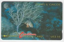 Turks & Caicos GPT Phonecard (Fine Used) Code 6CTCA - Turks- En Caicoseilanden