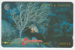 Turks & Caicos GPT Phonecard (Fine Used) Code 6CTCA - Turks & Caicos (Islands)
