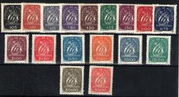 Portugal Nº 628/44. Año 1943 - Nuevos