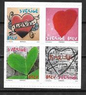 Suède 2006 N°2498/2501 Neufs Saint Valentin - Svezia