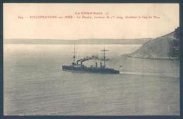 06 Villefranche Sur Mer Le Desaix Croiseur De 1er Rang Doublant Le Cap De Nice - Guerre