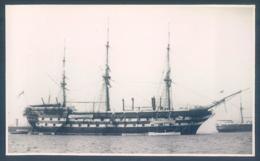 H. M. S. Boscawen Training Ship Bateau école Photo 7.5 X 13 Cm Boat Voilier - Boats