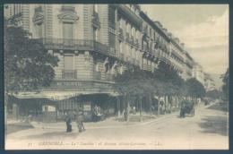 38 GRENOBLE Le Touriste Et Avenue Alsace Lorraine - Grenoble