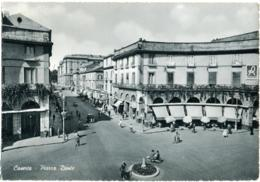 CASERTA  Piazza Dante  Insegne Lanerossi  Esso Distributore Di Benzina - Caserta