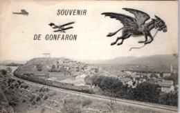 83 GONFARON - Souvenir - Francia