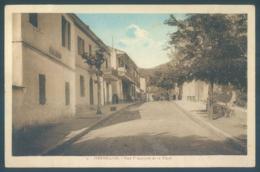 Algerie HERBILLON Rue Principale Et La Place - Autres Villes