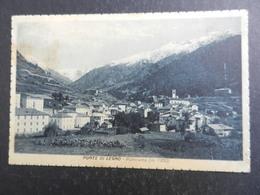 19969) BRESCIA PONTE DI LEGNO PANORAMA VIAGGIATA 1926 TIMBRO SOCIETA' ALPINISTI CATTOLICI GENOVA - Brescia