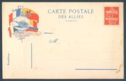 Carte Postale Des Alliés Franchise Militaire Guerre 14/18 - Guerre 1914-18