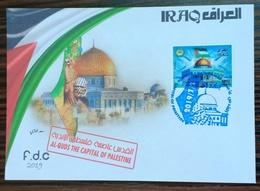 Iraq 2019 NEW Official FDC Jerusalem Capital Of Palestine Al-Quds - Iraq