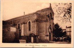 26 GRANE - L'église - France
