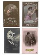 X08 - 28 Cards - People Men Women Children Couples - Phantasie