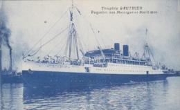 """Transports - Bâteaux - Compagnie Messageries Maritimes - Le S.S. """"Théophile Gauthier"""" - Paquebots"""