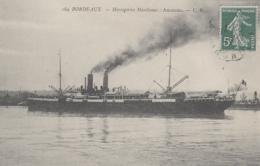 "Transports - Bâteaux - Compagnie Messageries Maritimes - Le S.S. ""Amazone"" - Paquebots"