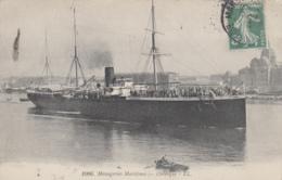 """Transports - Bâteaux - Compagnie Messageries Maritimes - Le S.S. """"Orénoque"""" - Paquebots"""