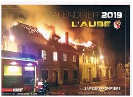Le Calendrier Des Sapeurs Pompiers De L'AUBE 2019 - Camion De Chavanges - Pages De Coloriage Enfants - Calendriers