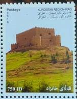 Iraq Kurdistan Region 2018 MNH Stamp Fortress 750ID - Iraq