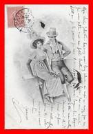 CPA  COUPLES.  Jolie Femme Et Son Amoureux En Tenue Renaissance...J478 - Couples