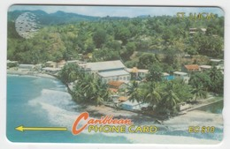 Saint Lucia GPT Phonecard (Fine Used) Code 13CSLB - St. Lucia